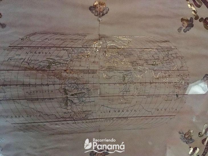 Mapamundi de 1587. Museo de La Merced