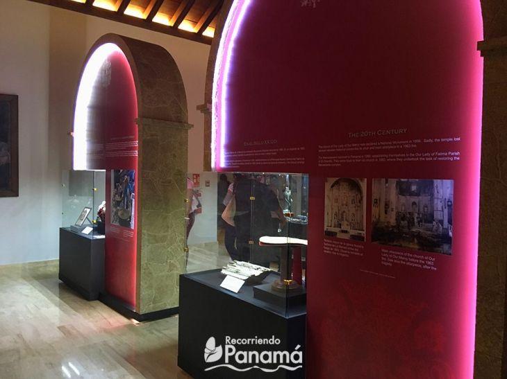Upper level of La Merced Museum