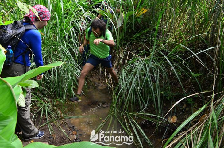 La Palangana trail