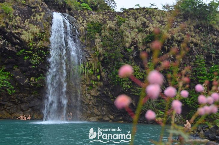 Las Damas waterfall