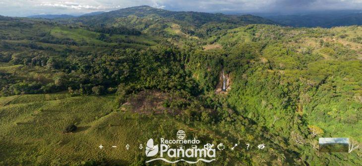 Tierras Altas View of the Virtual Tour of Punta Chame