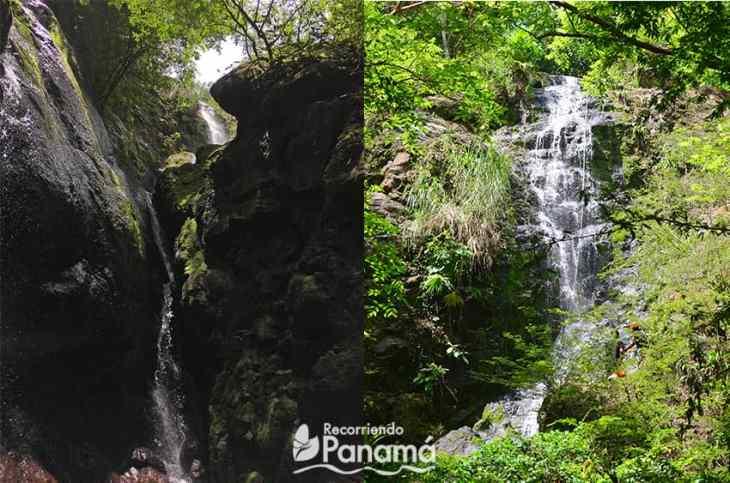 Los Golondrinos waterfall