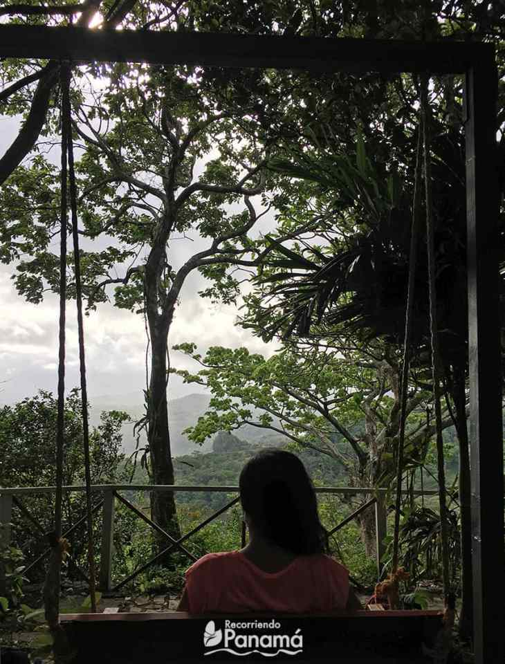 View from El Mirador Los Mandarinos.