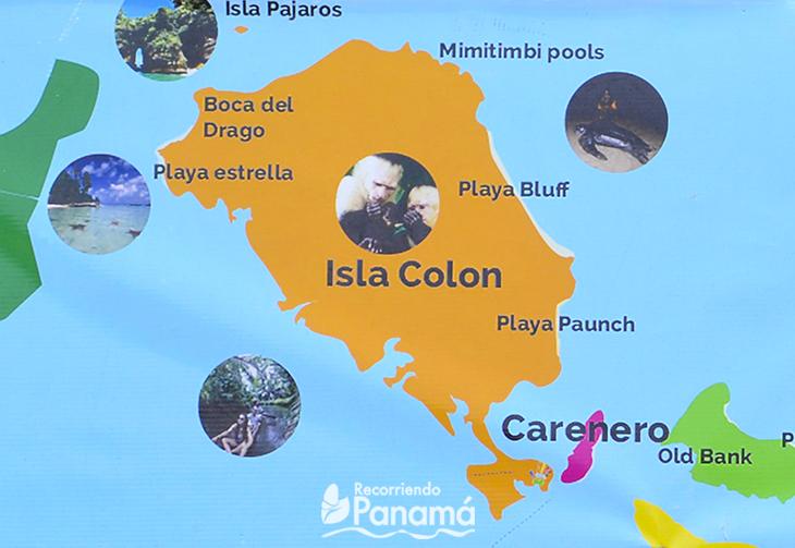 Isla Colón.