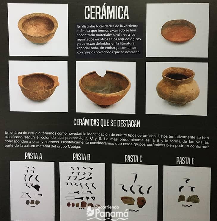 Types of ceramics.