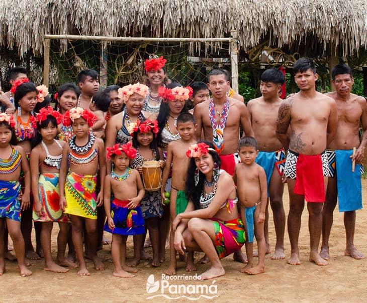 emberá drua in Panama Province