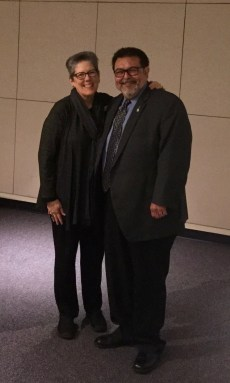 Retired City Manager Alex Briseno and Current RECOSA President Rebecca Waldman