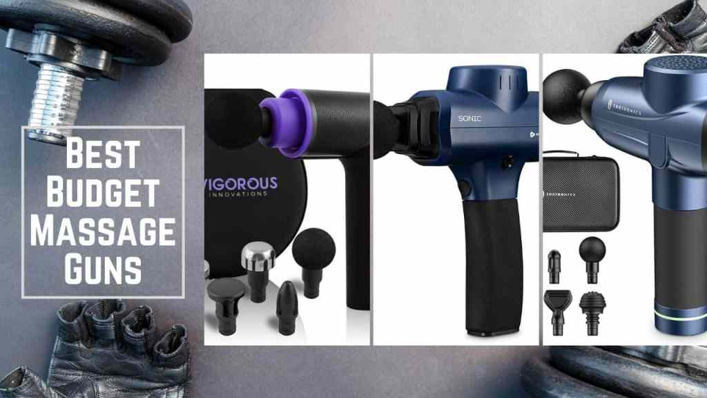 best affordable massage guns