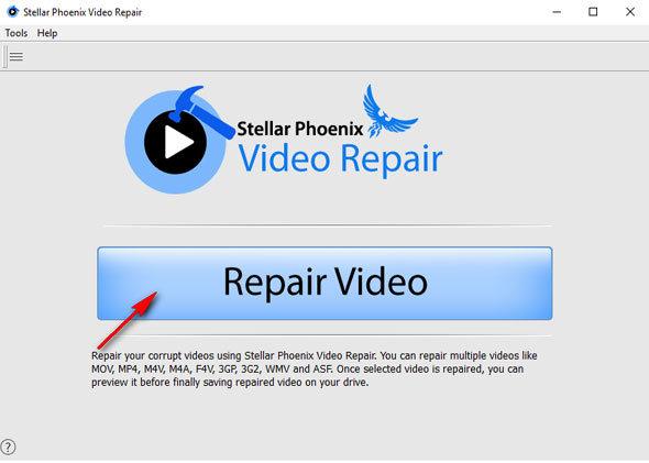 reparar vídeos danificados
