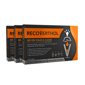Recoverthol 3 pack Going out with friends1