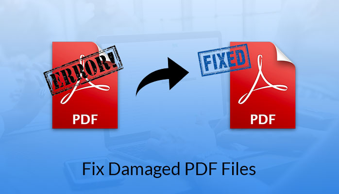 Any way to repair corrupted pdf file