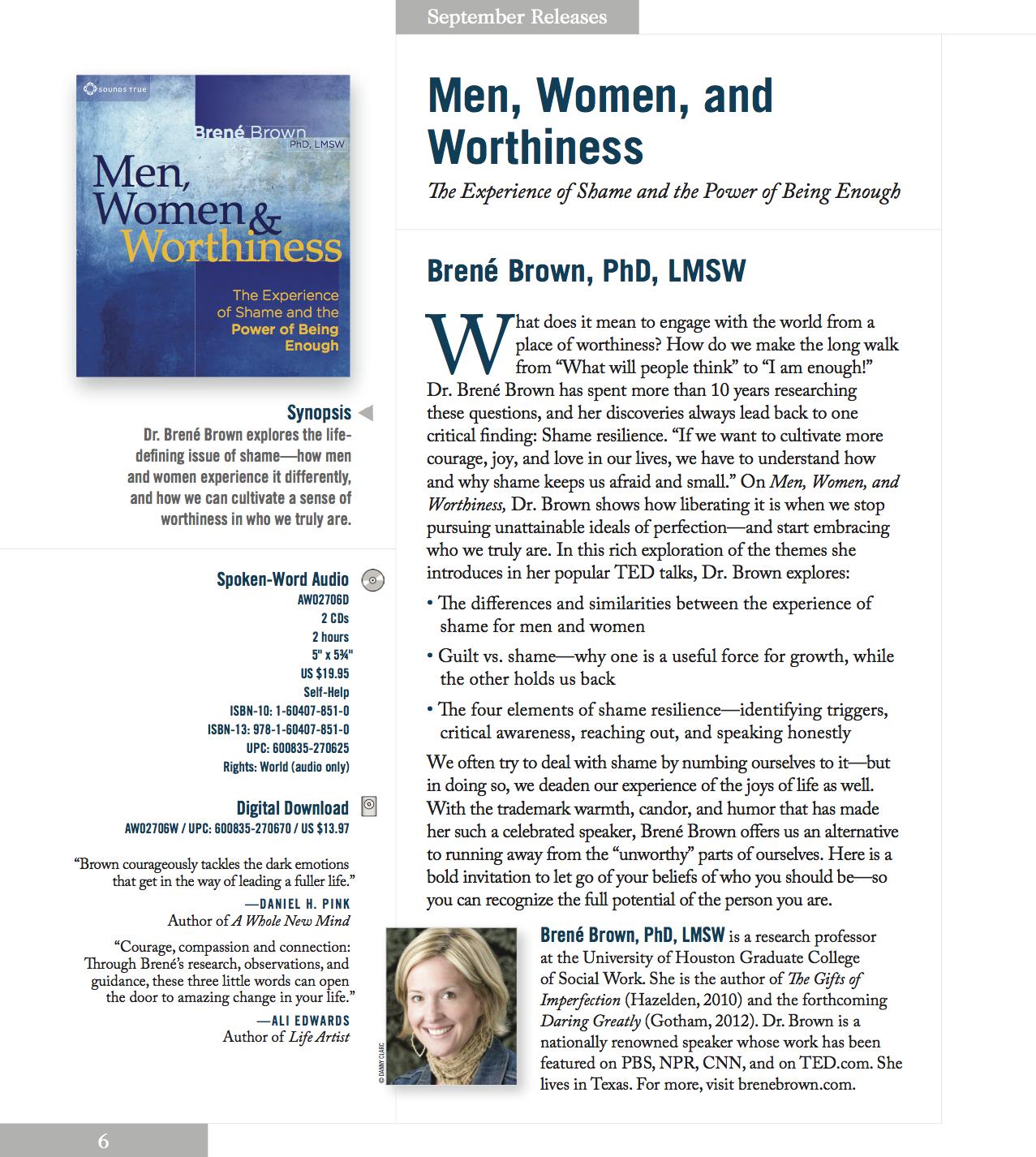 Men Women Amp Worthiness Cd