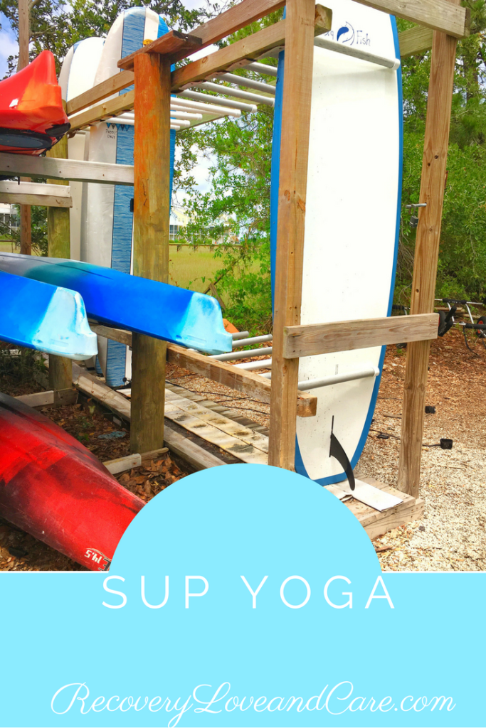 SUP Yoga in Charleston, SC!