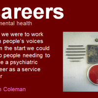 Ron Coleman - careers in mental health