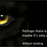 Perhaps there is a beast... maybe it's only us.