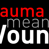 Trauma means Wound