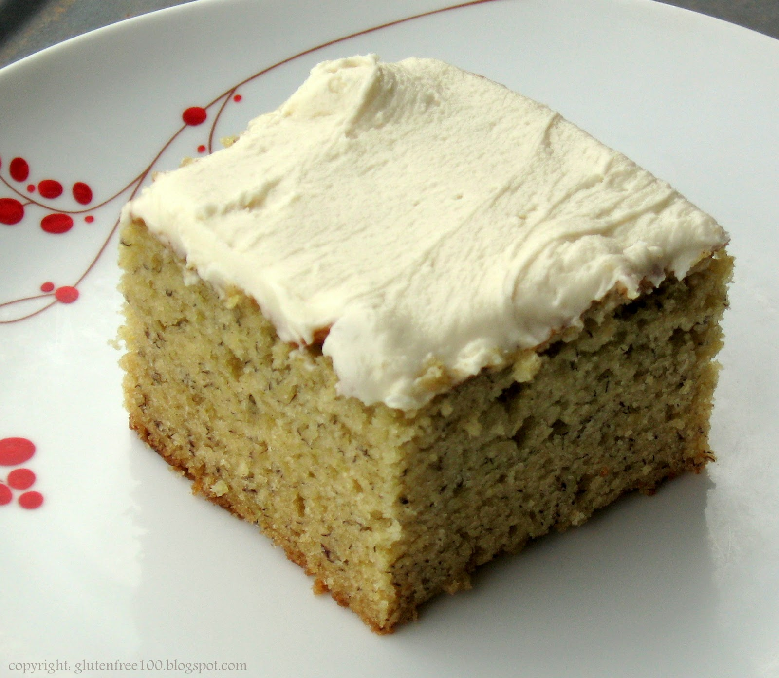 Gluten Free Banana Cake with Browned Butter Frosting Recipe