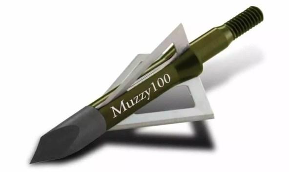 Muzzy Bowhunting 3-Blade Archery Arrow Broadhead