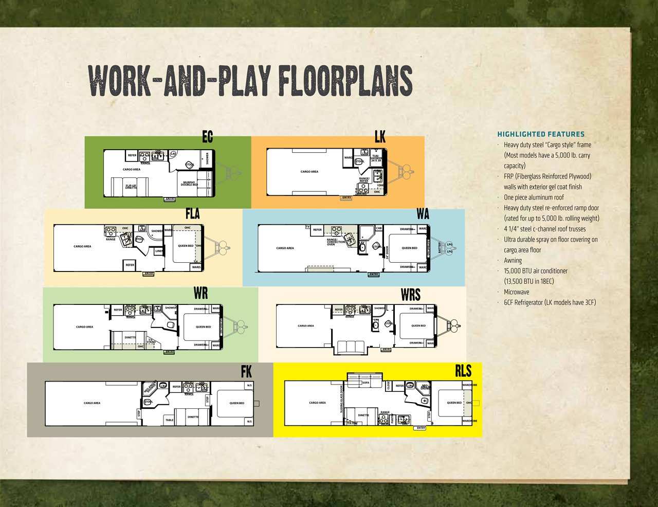 Forest River Work And Play Brochure