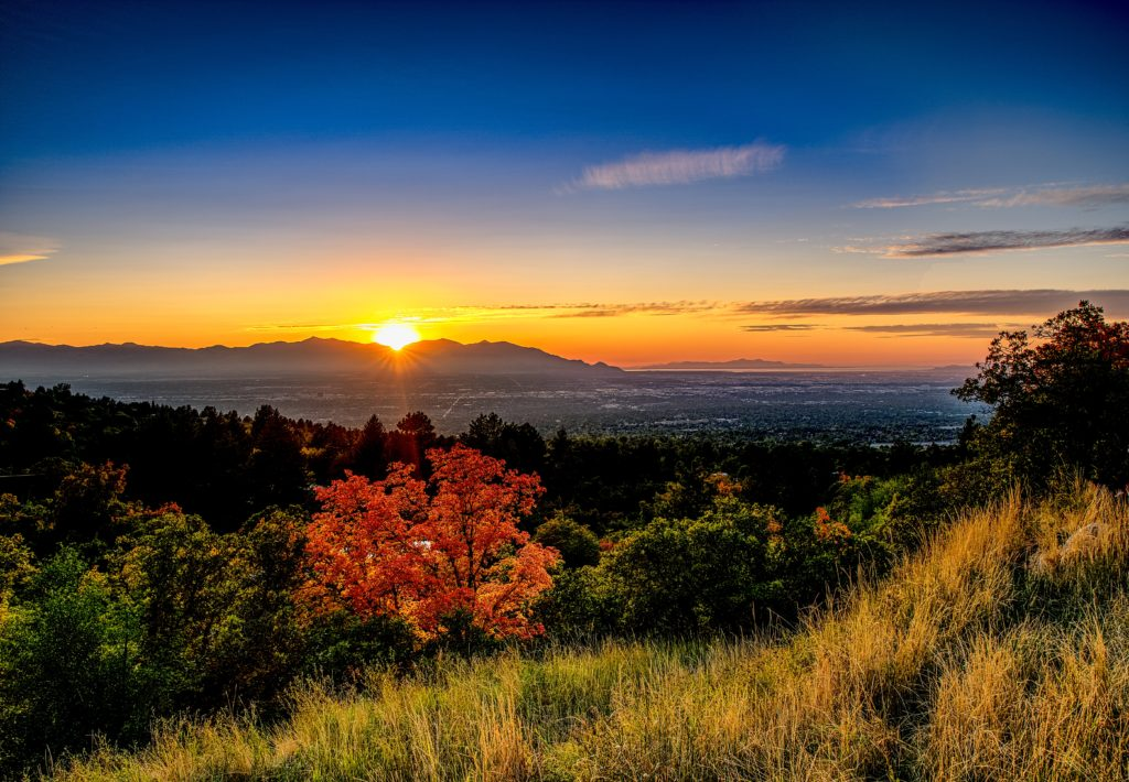 Salt Lake City Utah Fall Destination