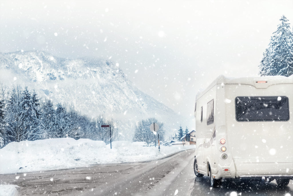 Winterizing your RV by a Salt Lake City RV department - protect your RV even in the harshest weather conditions.