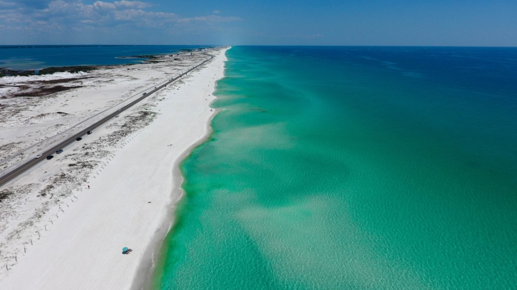 Miles and miles of sandy beaches and warm sunshine make Florida a romantic RV destination for many travelers.