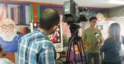 Violetas na mídia