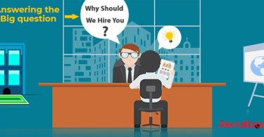 Answering the big question, Why should we hire you.