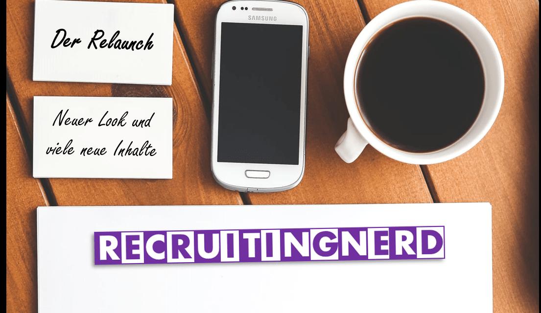 Alles neu: Der RecruitingNerd