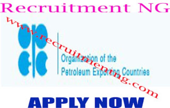 Upstream Oil Industry Analyst Vacancy @ OPEC