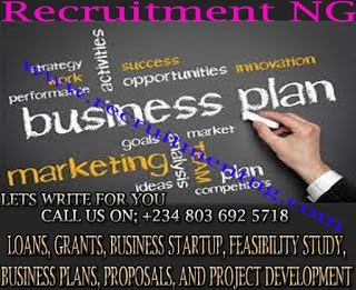 Writing a Business Plan for Investors  Loan   Grant  Feasibility study writer in Nigeria