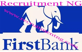 2018 Current Vacancies At First Bank Nigeria Limited| Several positions