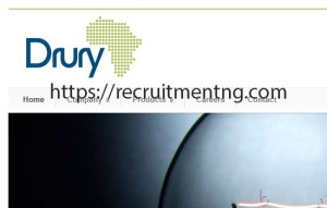 Mechanical Engineer at Drury Industries Limited