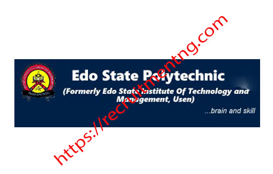 Full Time ND Admission 2018/2019 Edo State Poly