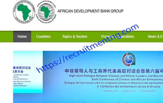 Job Vacancy in African Development Bank.