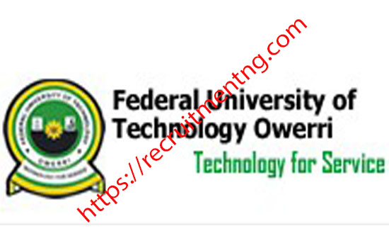 FUTO Supplementary Admission form 2018/19