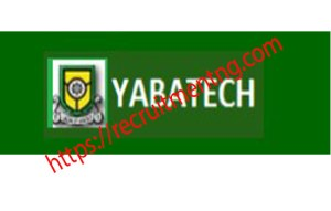 Yabatech ND part time and certificate Programme Form (2018/2019)