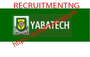Yabatech HND Part Time and Certificate Programme Form (2018/2019)