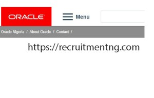 Cloud Domain Sales Consultant at Oracle Nigeria