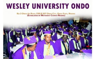 Wesley University Ondo 5th Convocation-Programme of Events