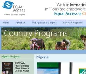 Monitoring, Evaluation, and Learning Officer at Equal Access Nigeria (EA)
