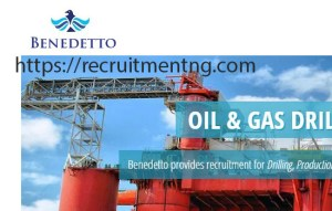 Chief Mechanic – Jack Up at Benedetto Nigeria