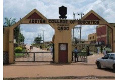(ACEONDO) NCE Admission Lists for 2018/2019 Academic Session [2nd,Batch