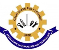 (OSPOLY) Iree Pre-Semester Examination Test Schedule for 2018/2019