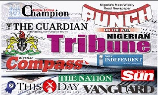 14th January 2019 Monday News On All Nigeria Newspaper Headlines/Detailed