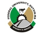 (FUDUTSINMA) Pre-Degree & Remedial 6th, Admission Lists for 2018/2019  [UPDATED]