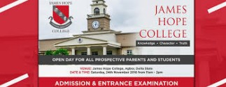 Job Vacancies At James Hope College