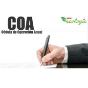 COA (Cédula de Operación Anual)
