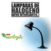 LAMPARAS DE HALOGENO, DATOS INTERESANTES..!