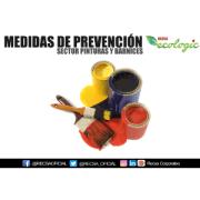 MEDIDAS DE PREVENCIÓN   SECTOR PINTURAS Y BARNICES